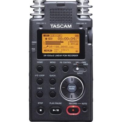 دستگاه ضبط صدا تسکام DR100-MKIIدستگاه ضبط صدا تسکام DR100-MKII